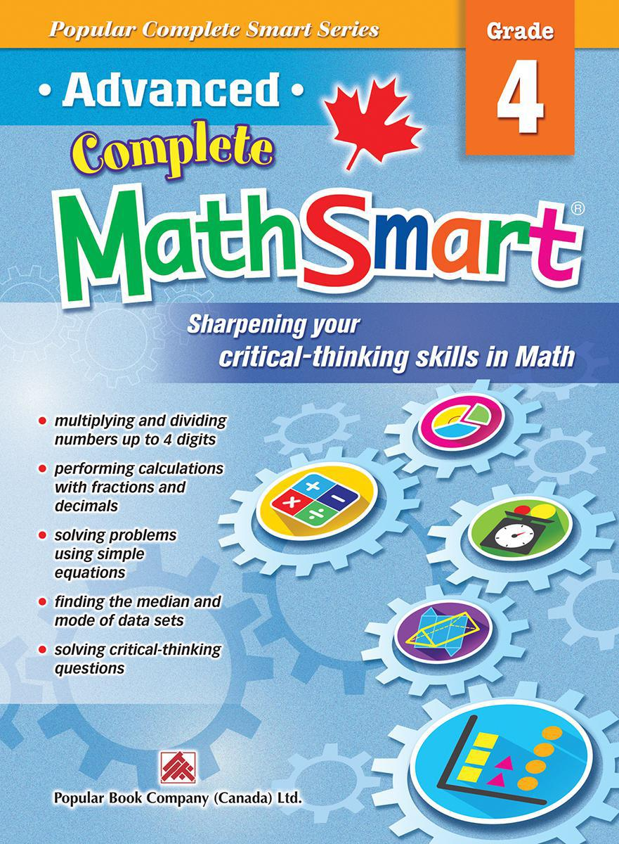 Advanced Complete MathSmart: Grade 4
