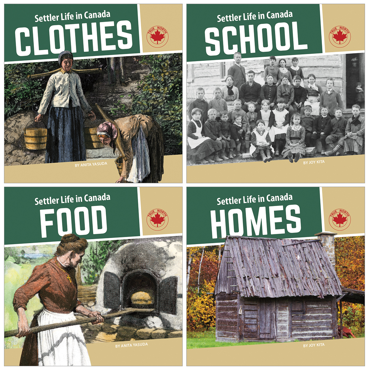 Settler Life in Canada 4-Pack