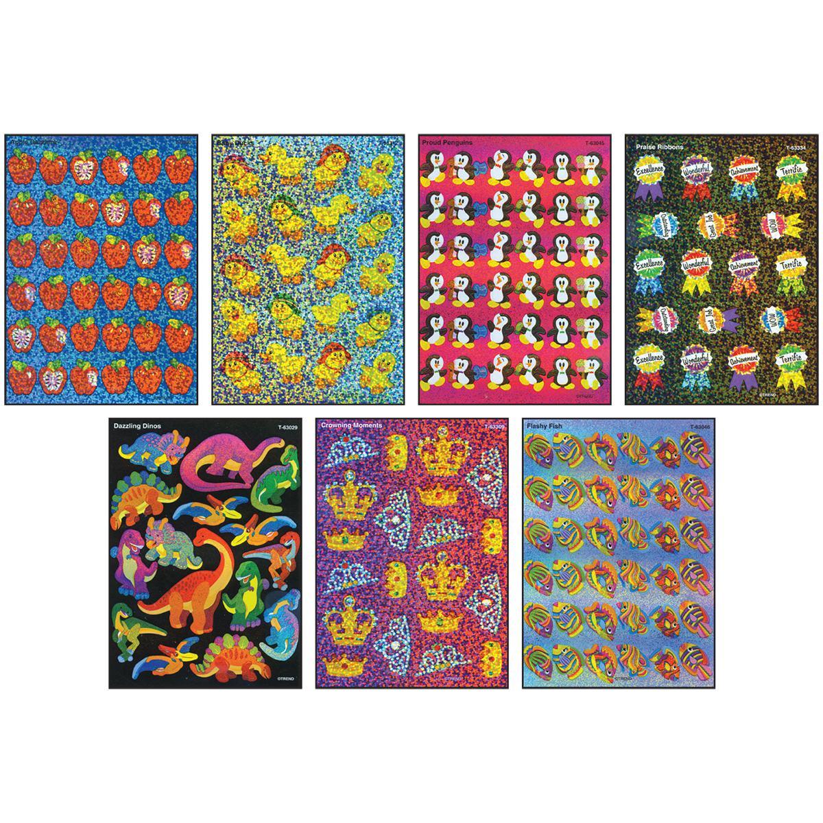 Jumbo Sticker Sparkle Assorted Pack