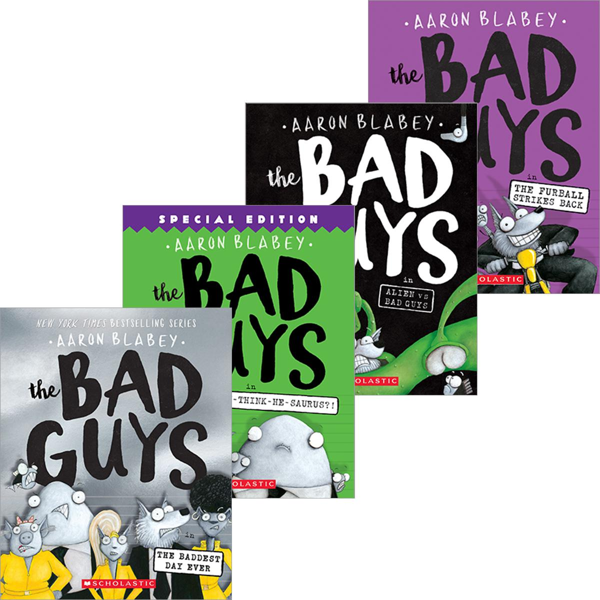 The Bad Guys #1 - # 10 Pack