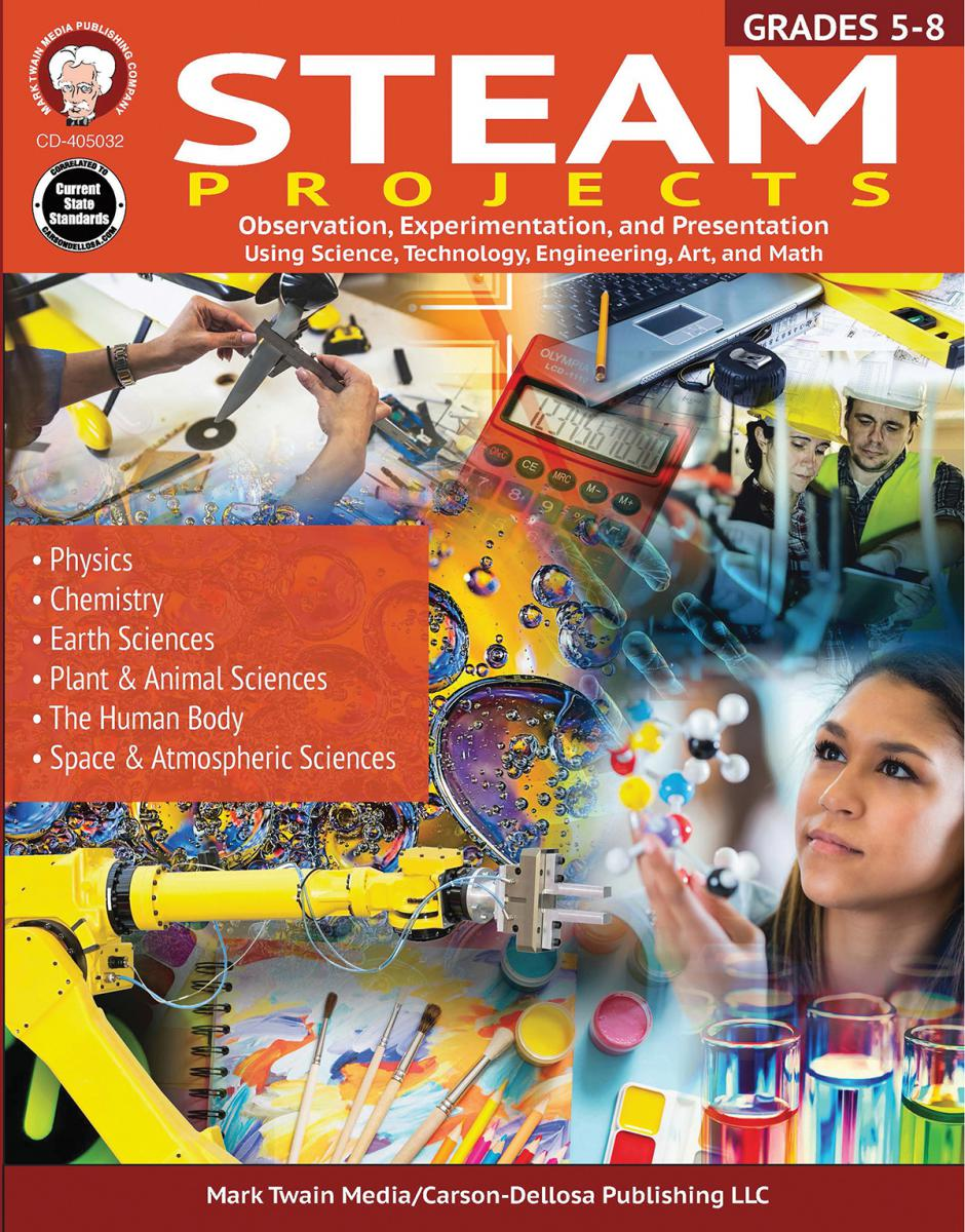STEAM Projects Workbook Grades 5-8