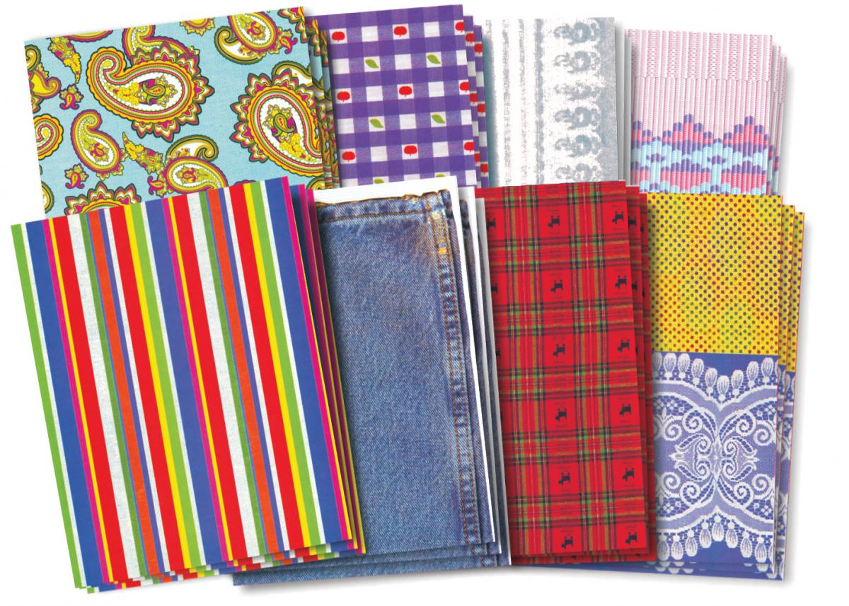 Fabulous Fabric Craft Paper