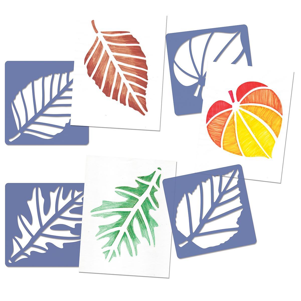 Perfect Leaf Stencils