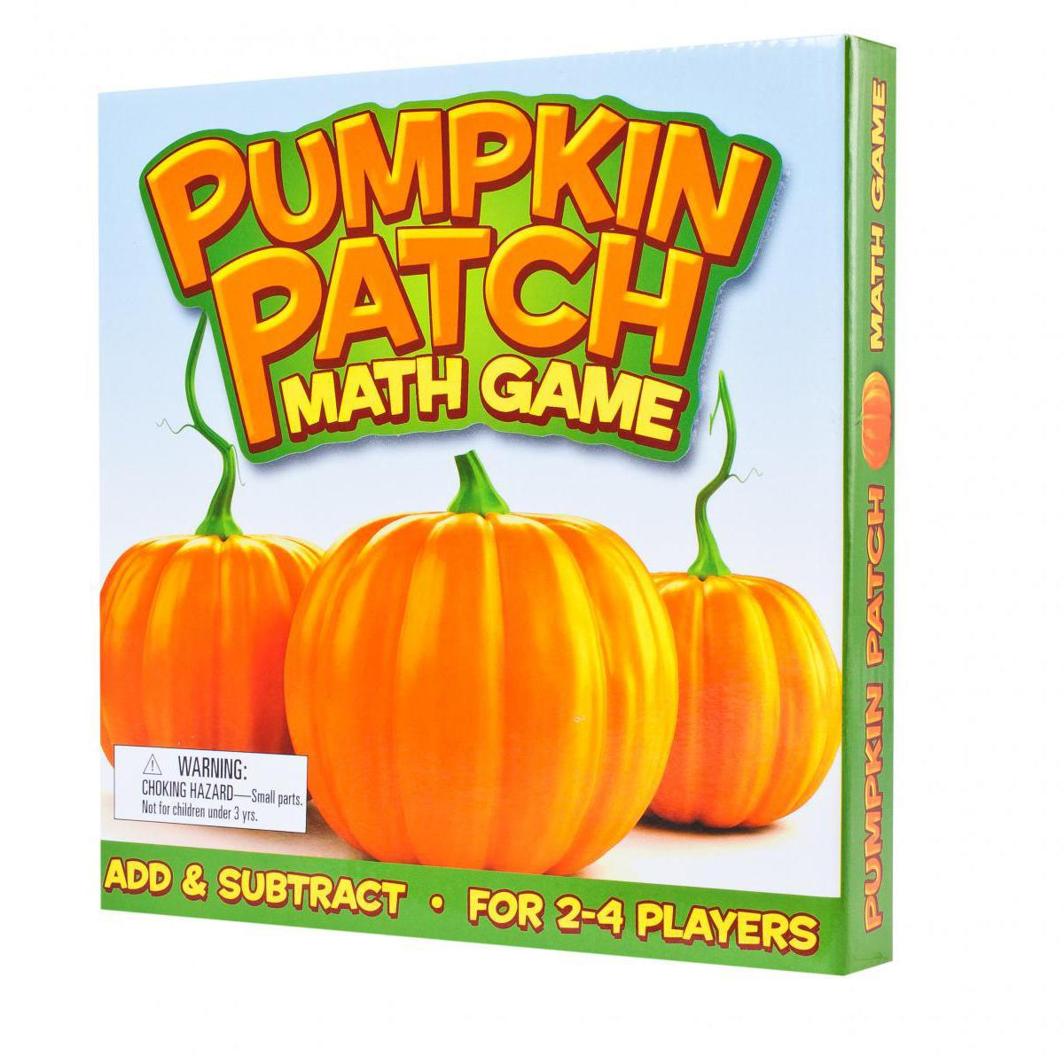 Pumpkin Patch Math Game