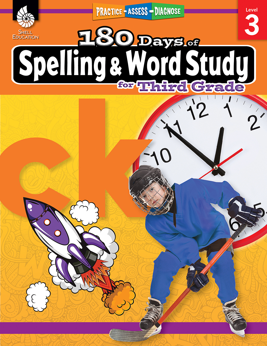 Practice, Assess, Diagnose: 180 Days of Spelling and Word Study for Third Grade