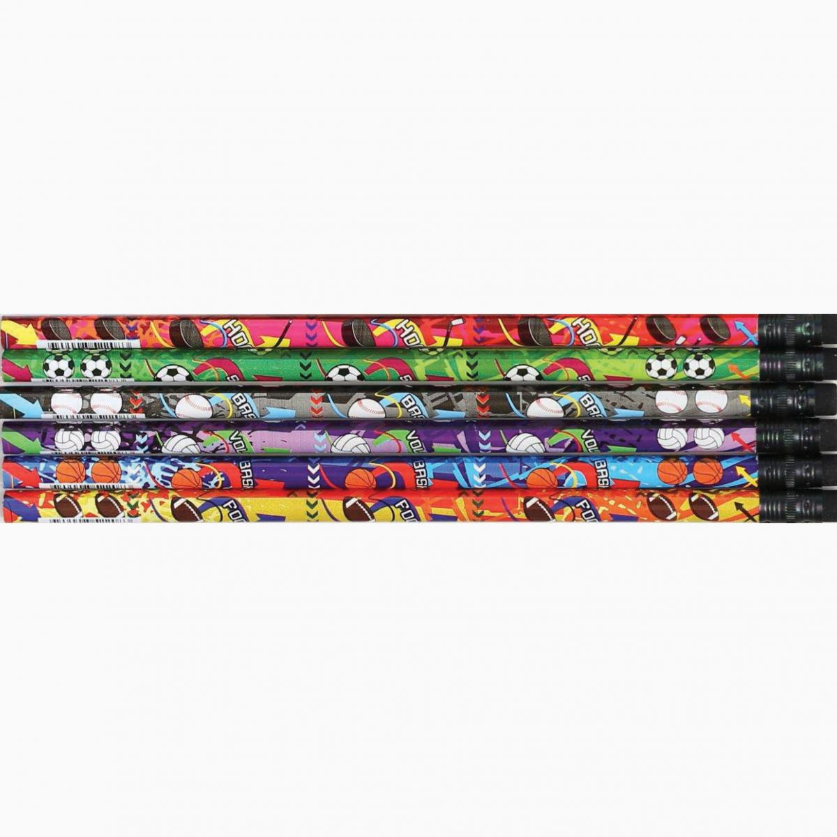 Mega Sports Assorted Designer Pencils