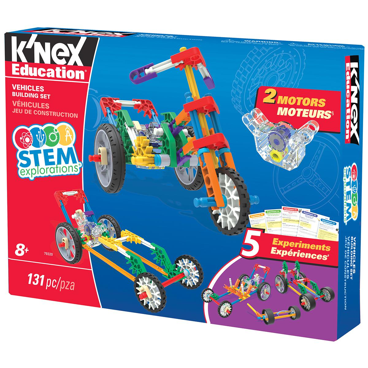 K'Nex® STEM Explorations Vehicles Building Set