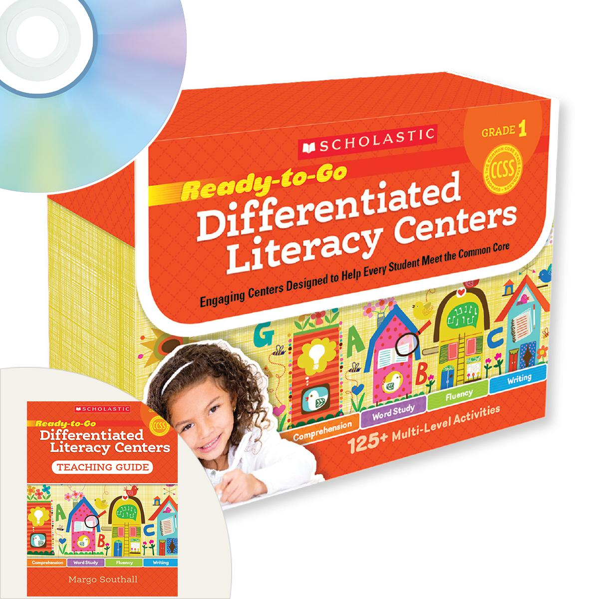 Ready-to-Go Differentiated Learning Centers Grade 1