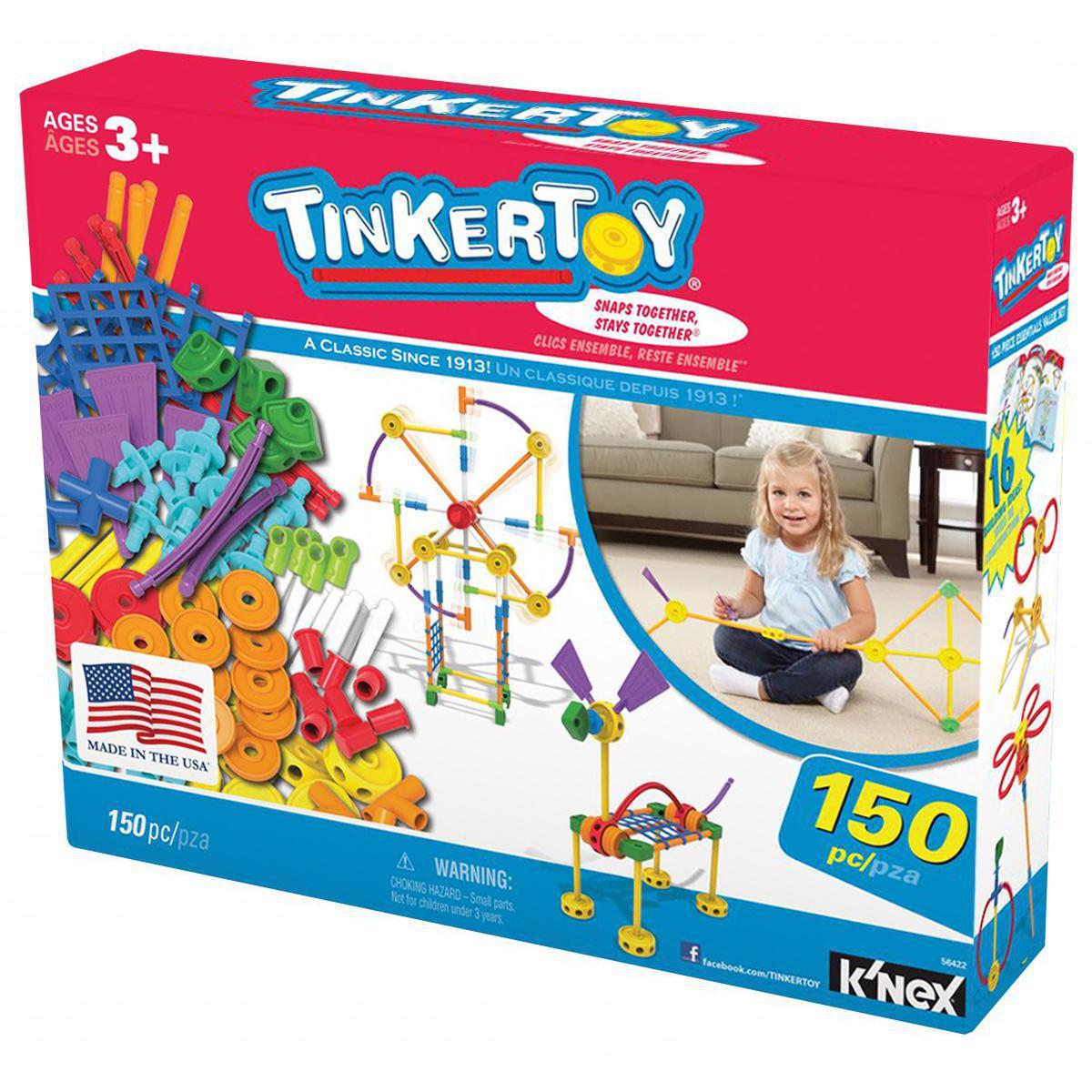Tinkertoy® 150 Piece Essentials Value Set