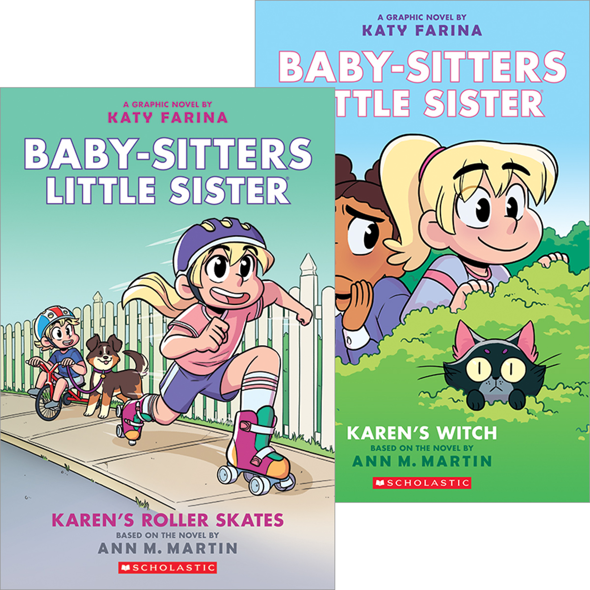Baby-Sitters Little Sister® #1-#2 Pack