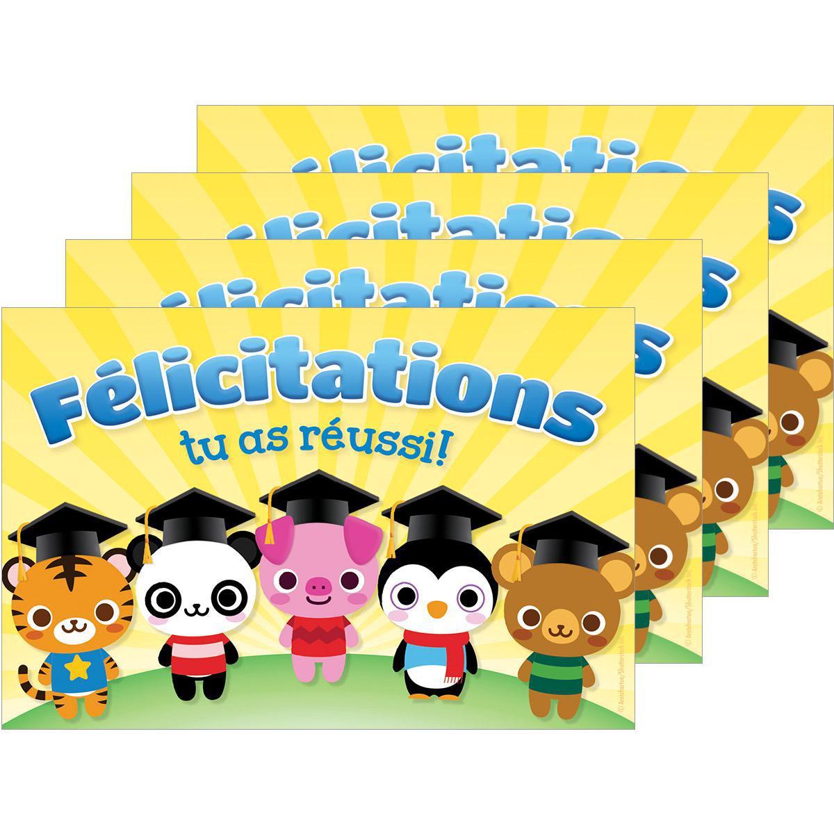 Cartes postales Félicitations, tu as réussi!