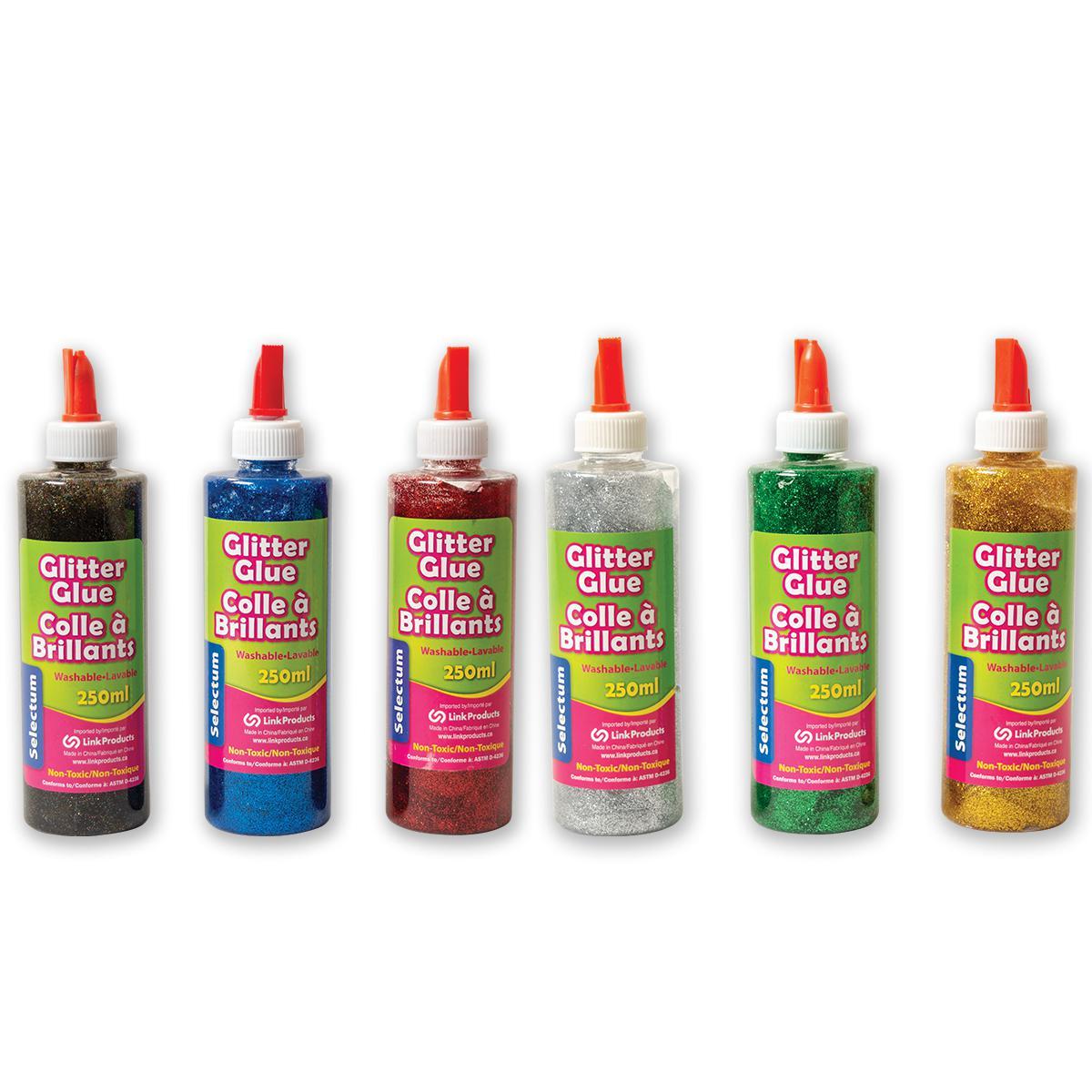 Glitter Glue 6-Pack