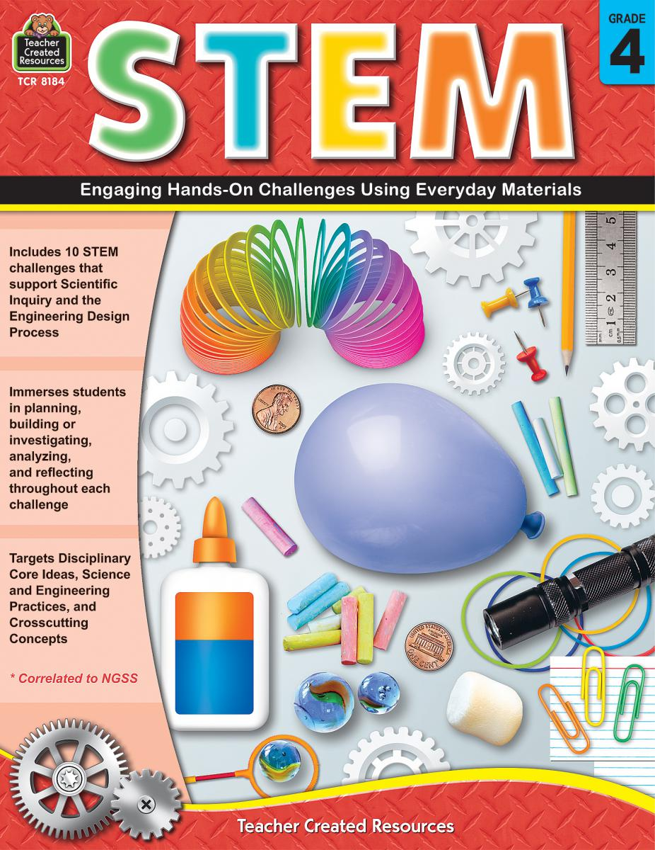 STEM Gr. 4: Engaging Hands-On Challenges Using Everyday Materials