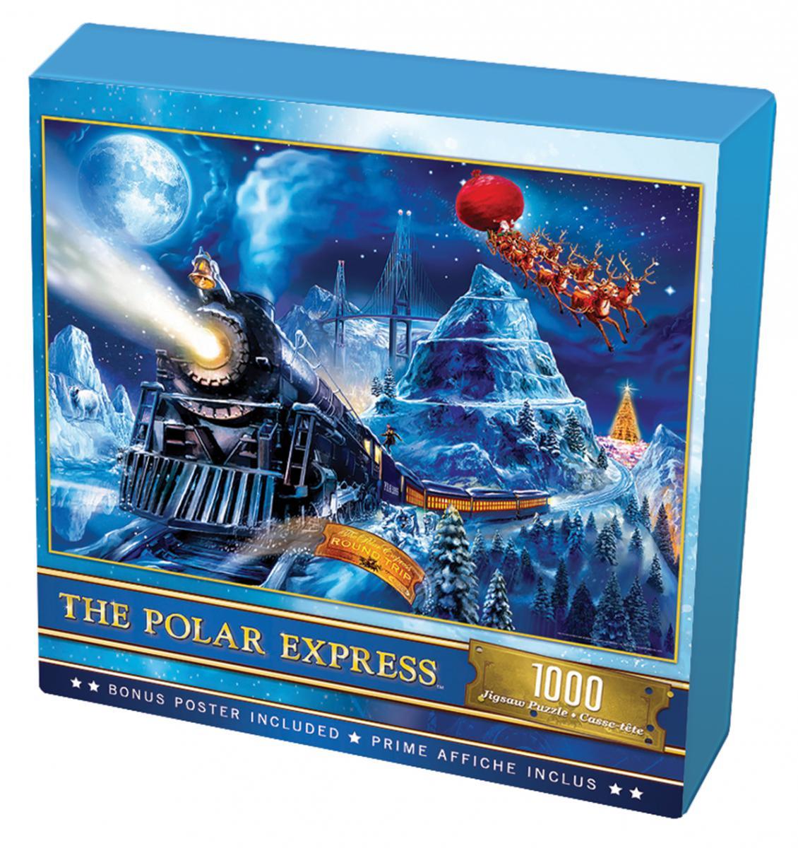 The Polar Express 1000 Piece Puzzle