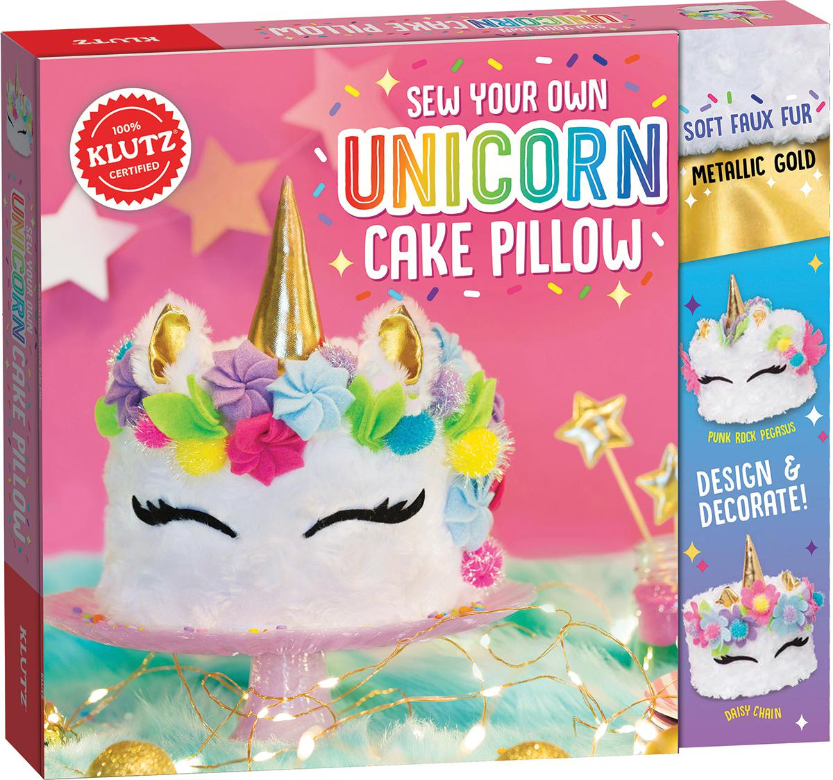 Klutz® Sew Your Own Unicorn Cake Pillow