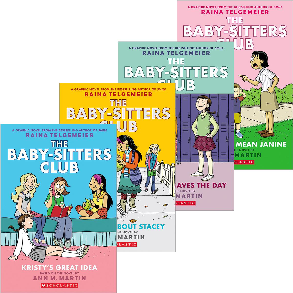The Baby-Sitters Club® Graphix #1-#5 Pack
