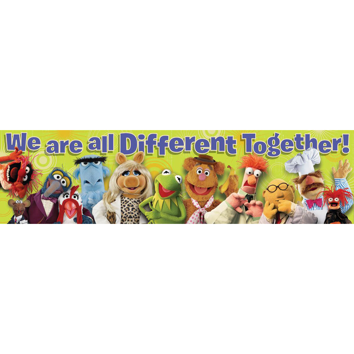 Muppets® We Are Different Banner