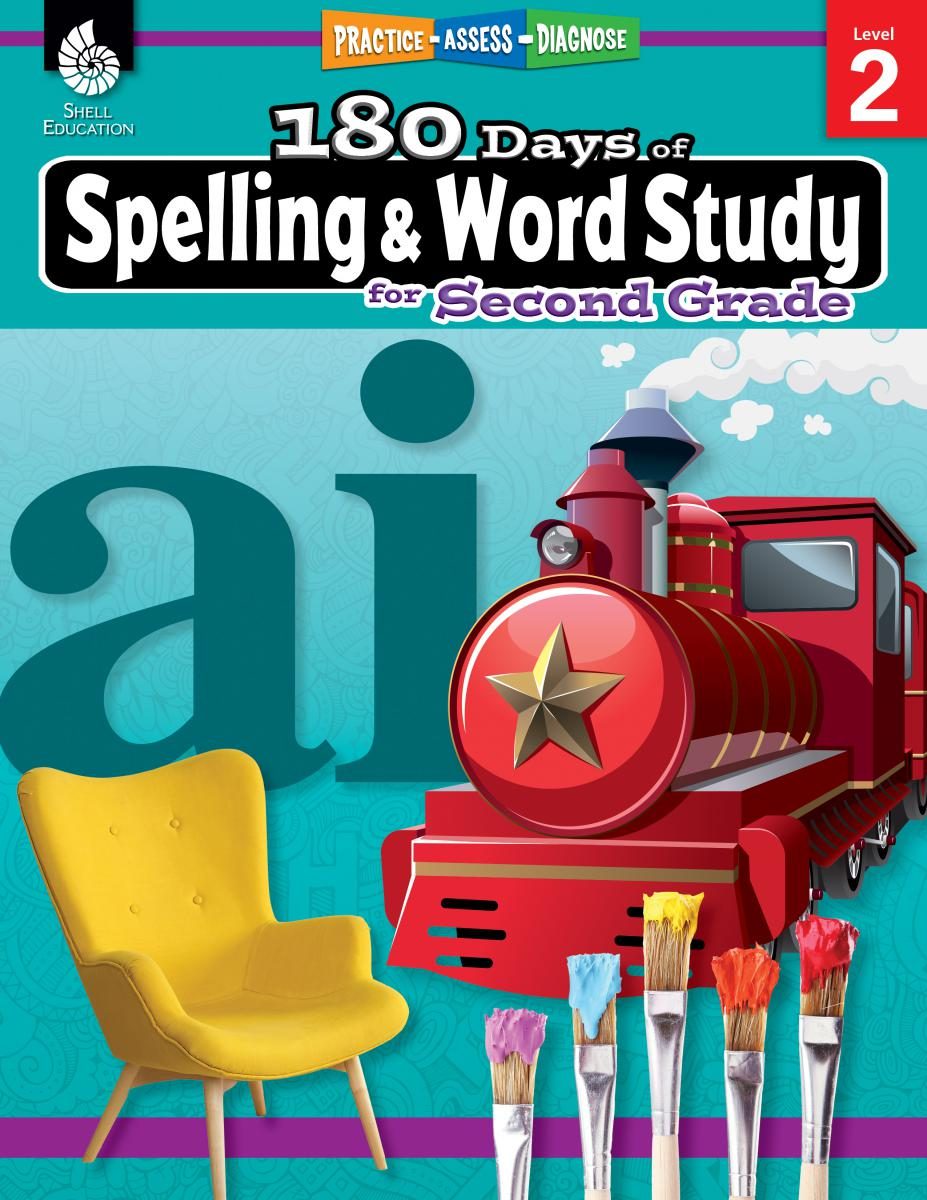 Practice, Assess, Diagnose: 180 Days of Spelling and Word Study for Second Grade