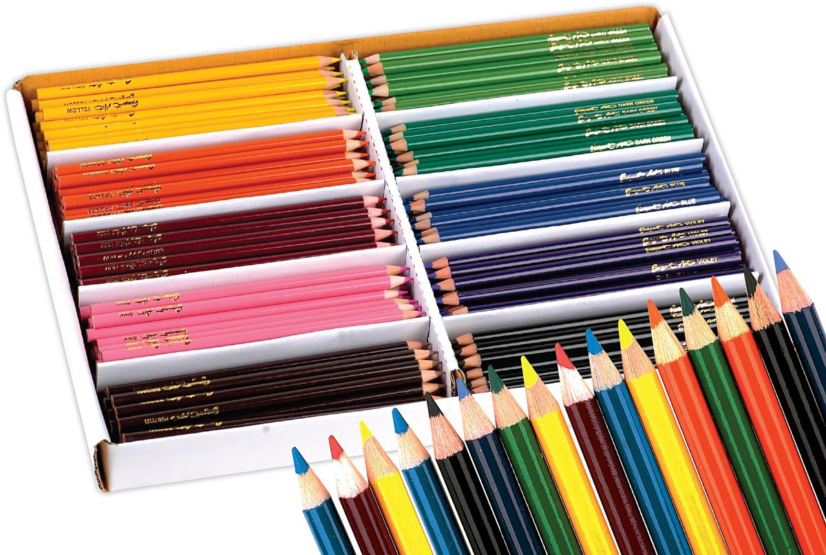Sargent Art® Best Buy Coloured Pencil Classpack (250)