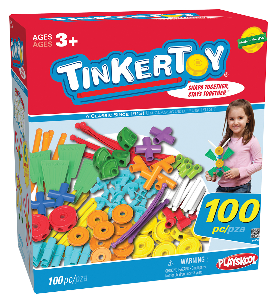 Jeu de construction Tinkertoy®