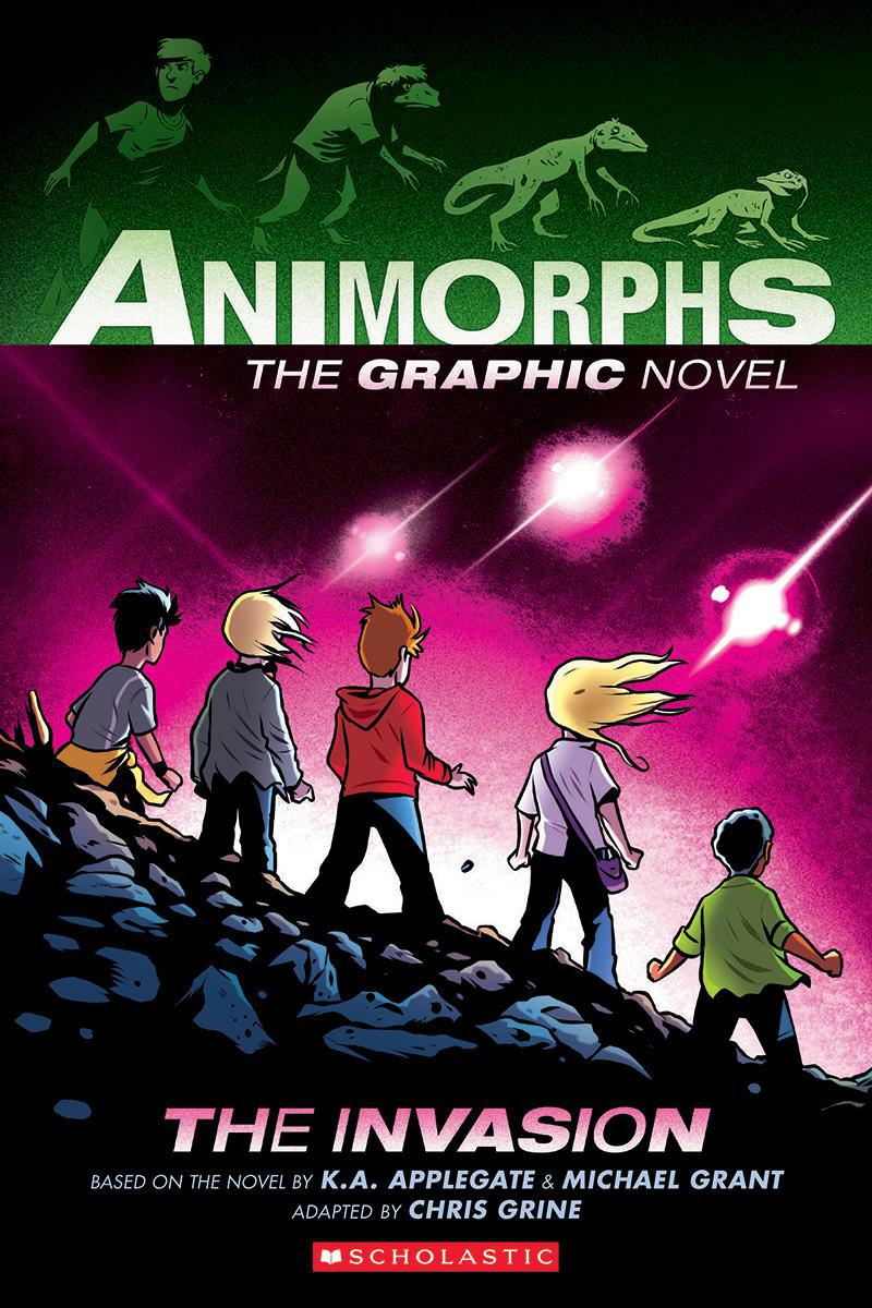 Animorphs: The Graphic Novel #1: The Invasion