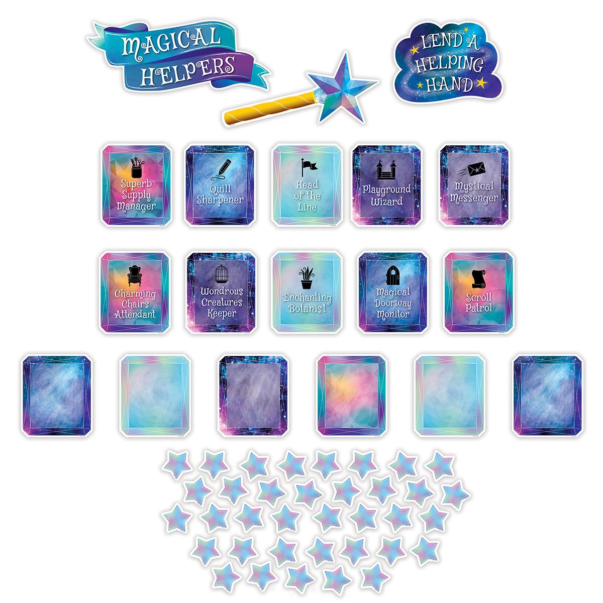 Mystical Magical Class Jobs Mini Bulletin Board