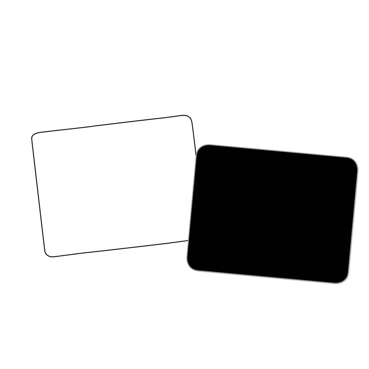 Dry Erase Neon Black Boards 10-Pack