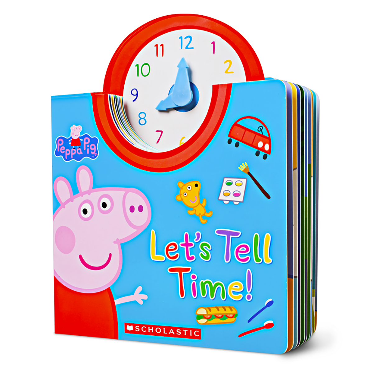 Peppa Pig: Let's Tell Time!