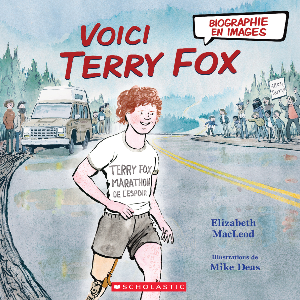 Biographie en images : Voici Terry Fox