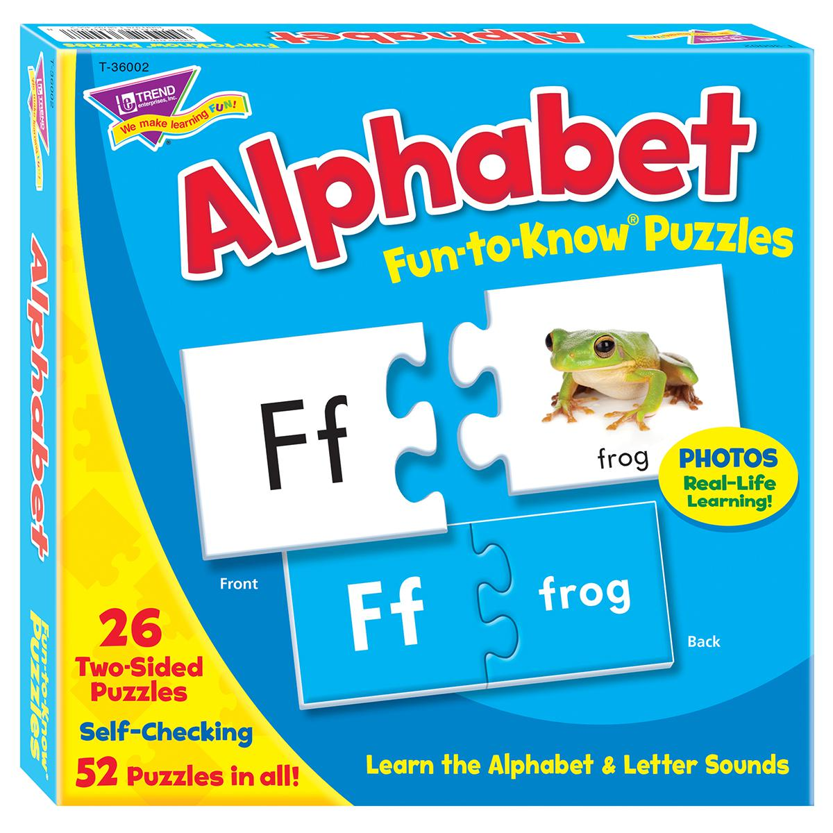 Fun to Know Puzzles: Alphabet