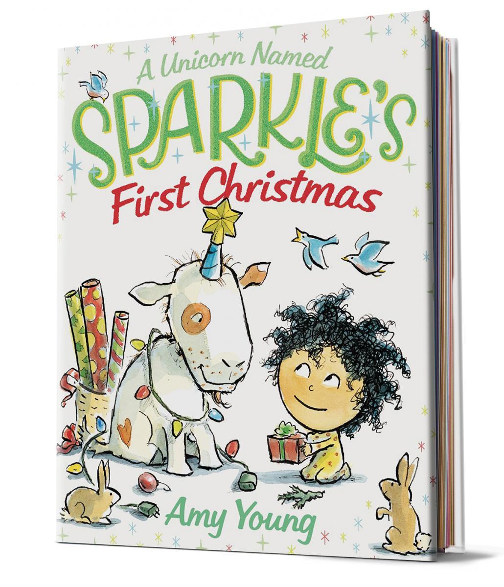 A Unicorn Named Sparkle's First Christmas