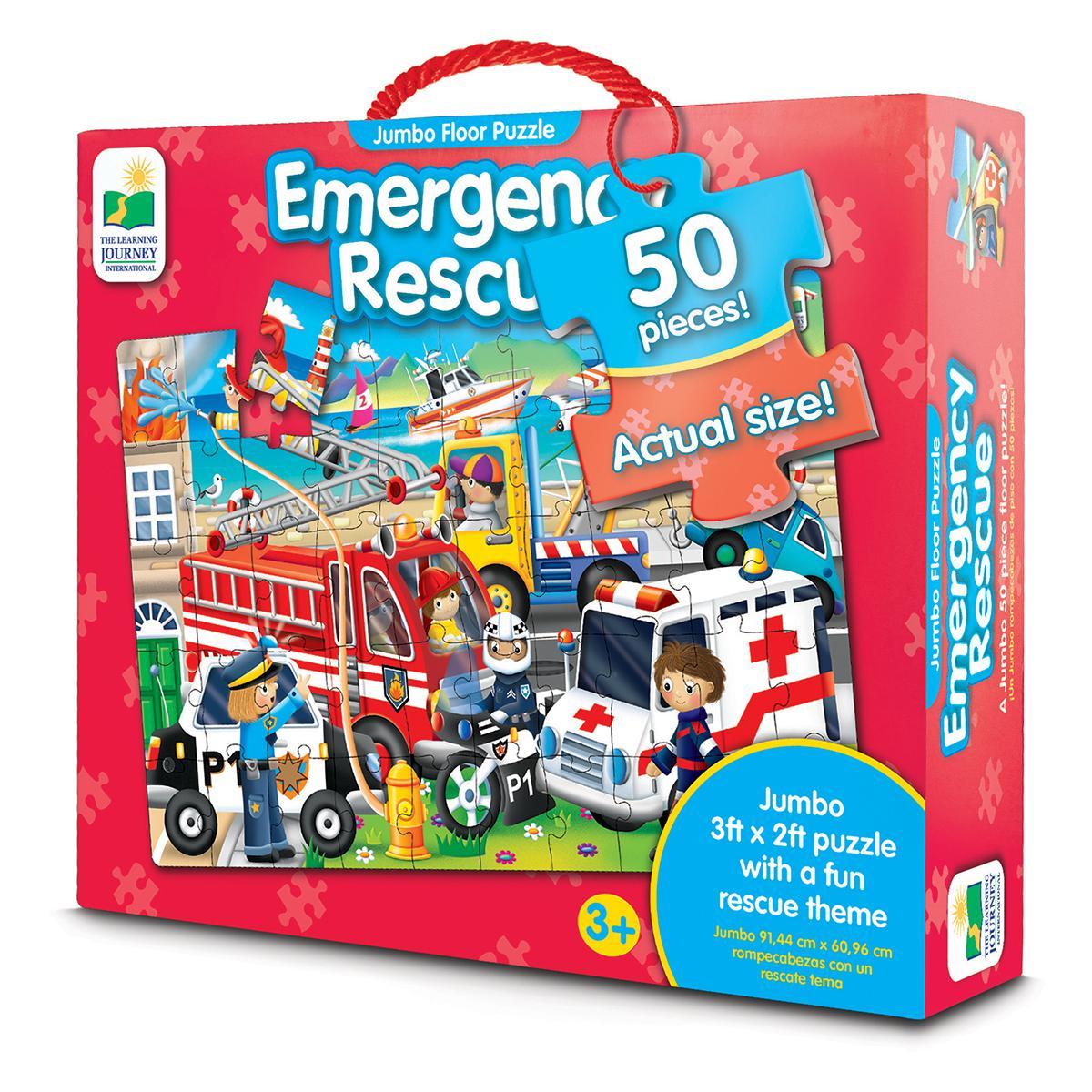 Jumbo Floor Puzzles: Emergency Rescue