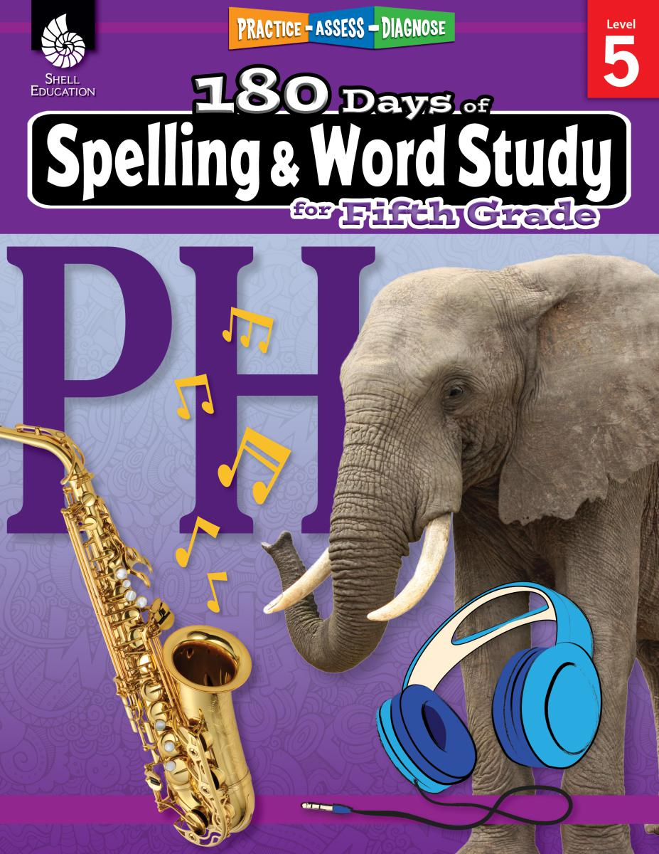 Practice, Assess, Diagnose: 180 Days of Spelling and Word Study for Fifth Grade