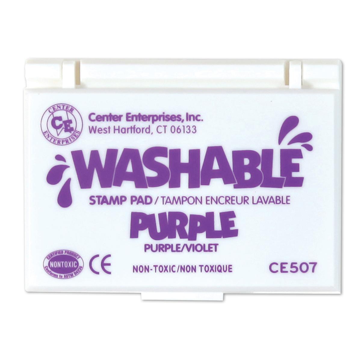 Washable Stamp Pads: Purple