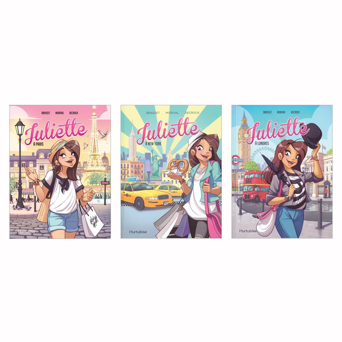 Collection Juliette en BD