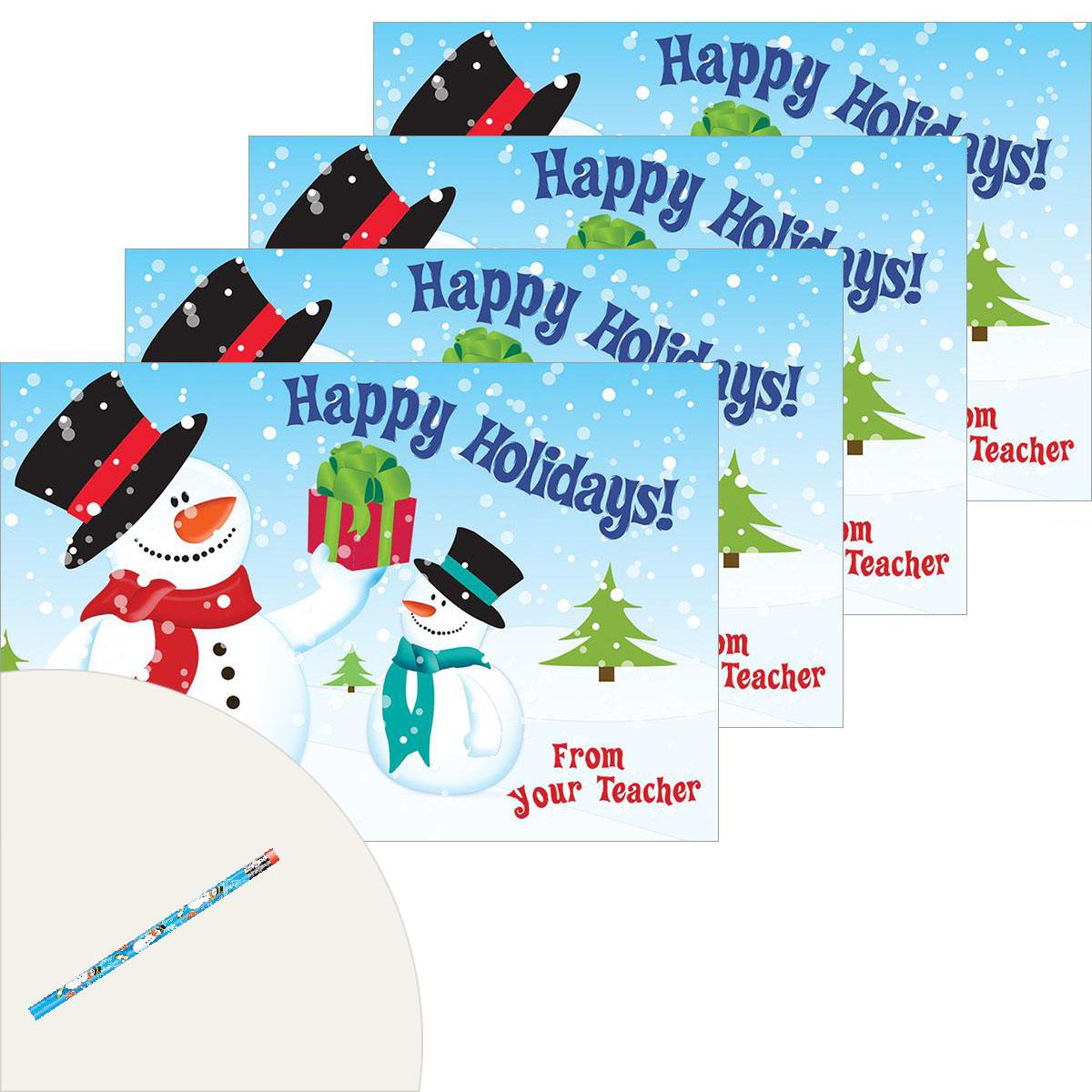 Happy Holidays Snowman Pack