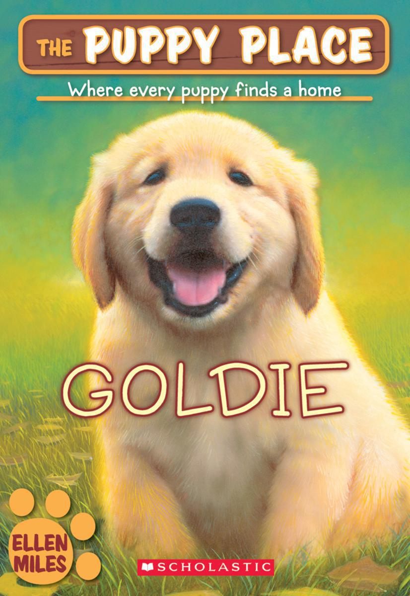The Puppy Place #1: Goldie