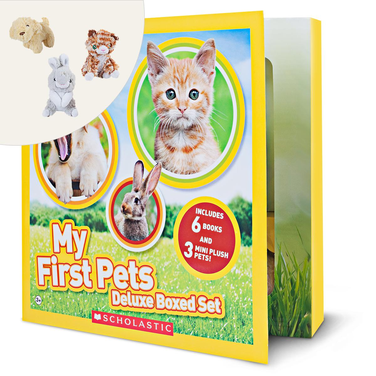 National Geographic Kids: My First Pets Deluxe Boxed Set