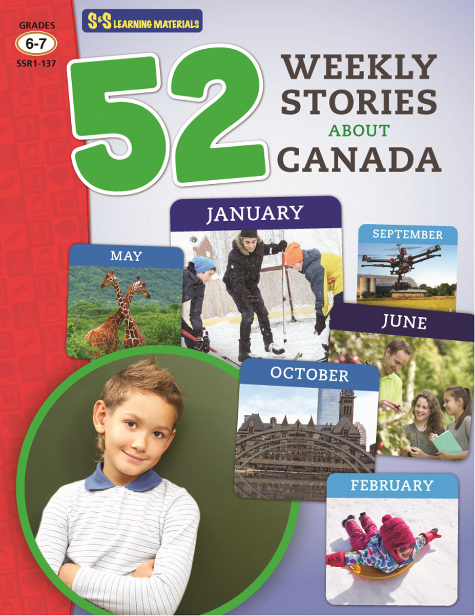 52 Weekly Stories About Canada: Gr. 6-7