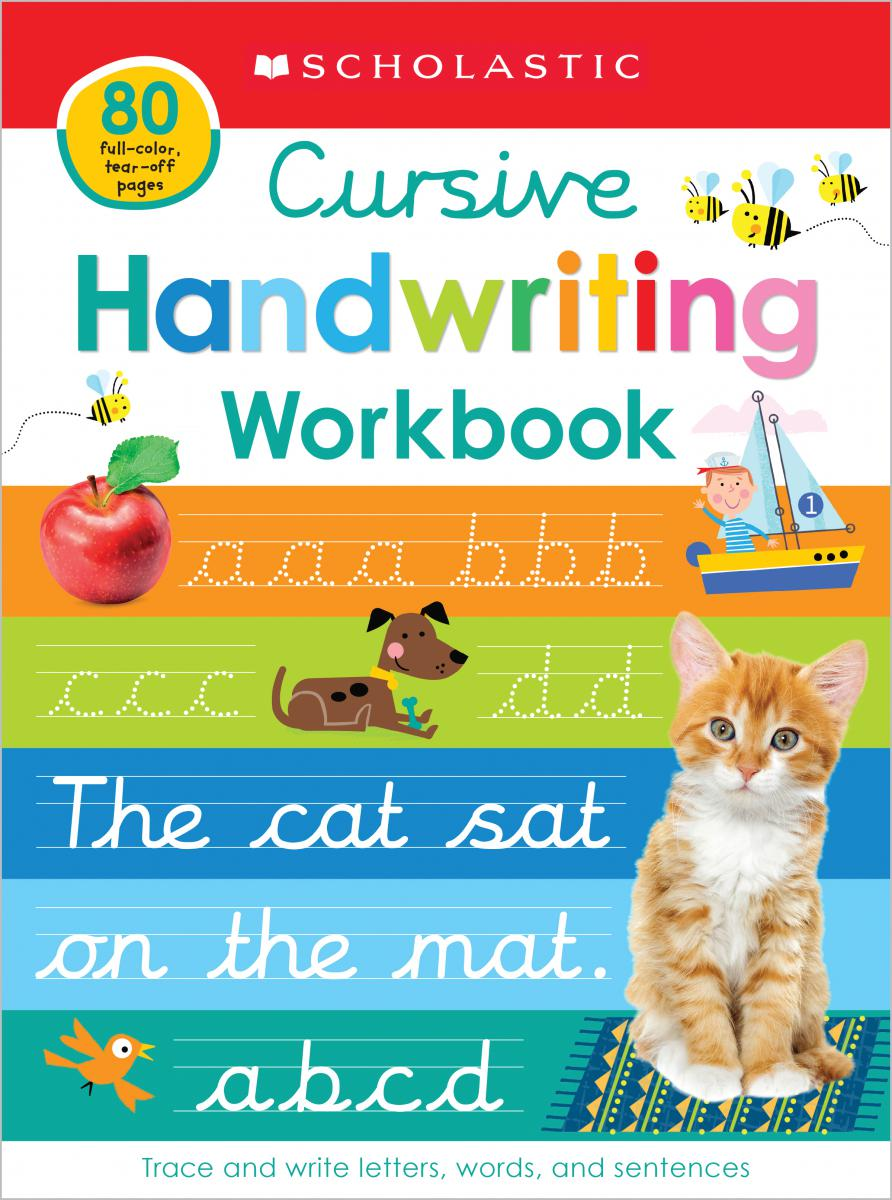 Scholastic Early Learners: Cursive Handwriting Workbook