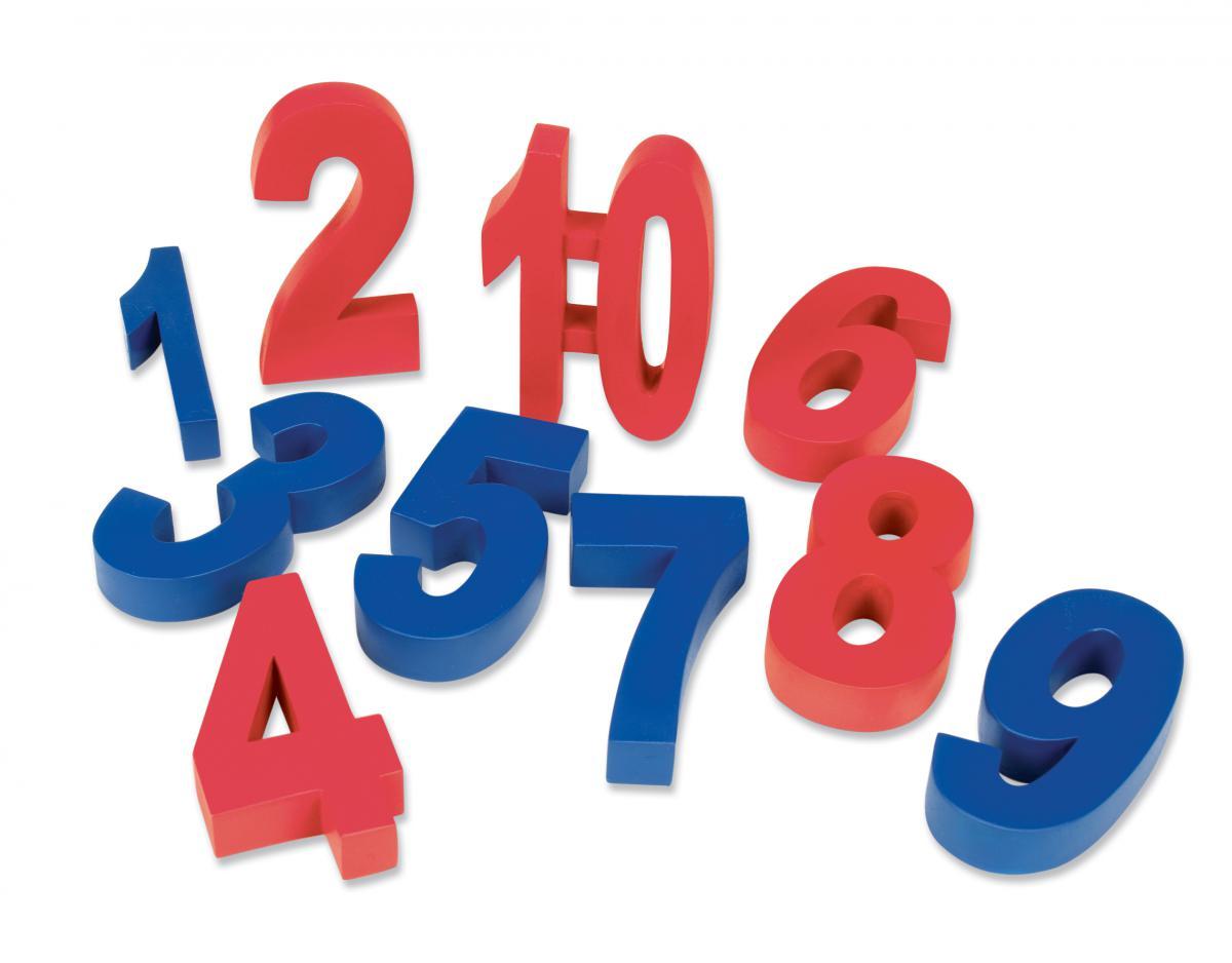 Poids en forme de chiffres