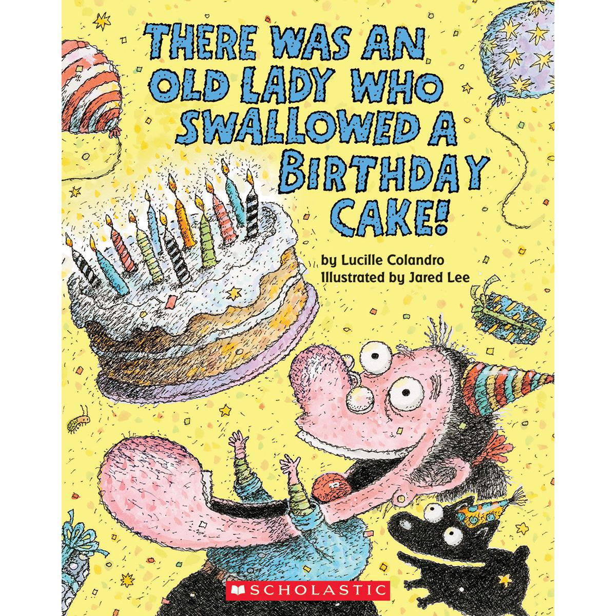 There Was an Old Lady Birthday 10-Book Pack