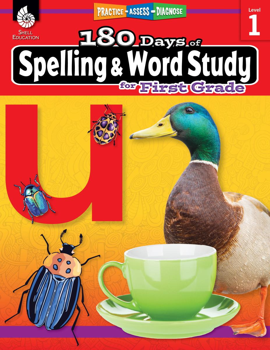 Practice, Assess, Diagnose: 180 Days of Spelling and Word Study for First Grade