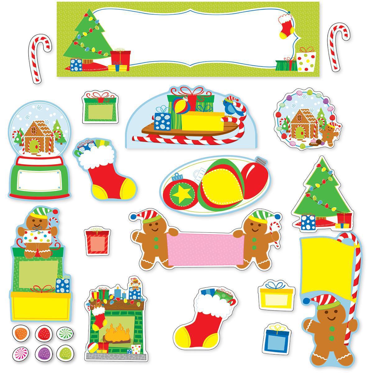 Holiday Fun Mini Bulletin Board Set