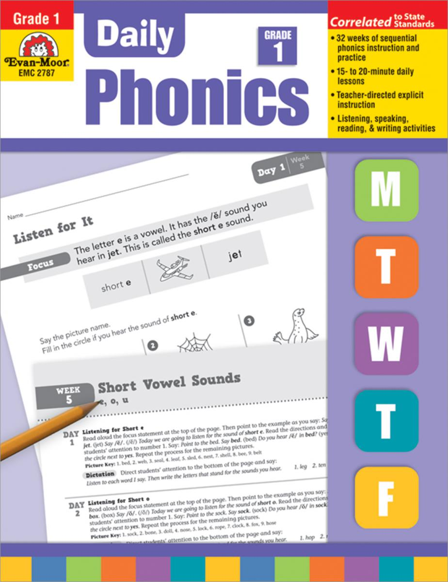 Daily Phonics Practice Grade 1