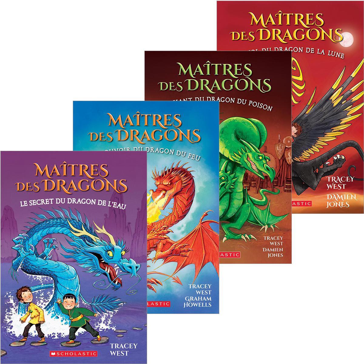 Collection Maîtres des dragons 1