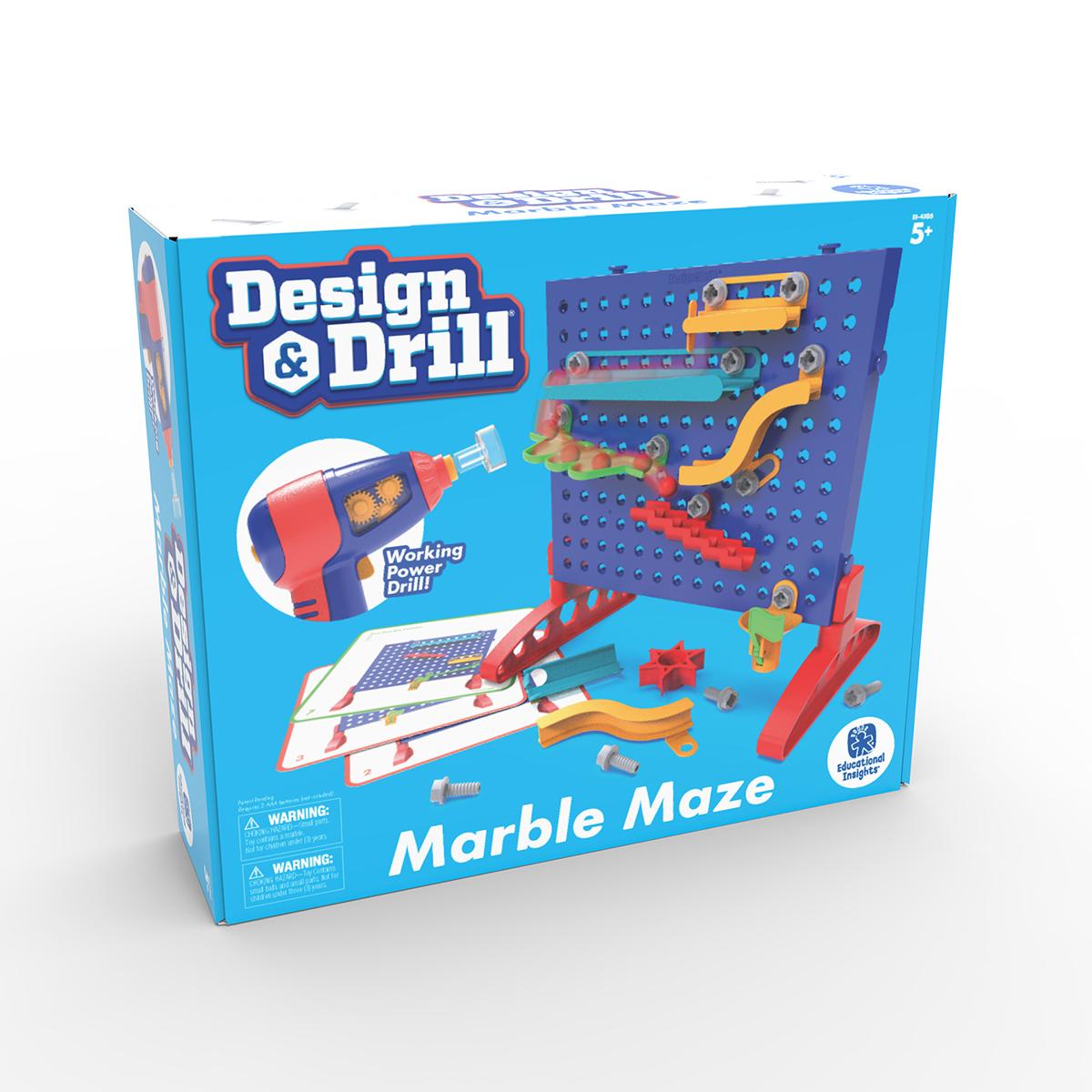 Design & Drill: Marble Maze
