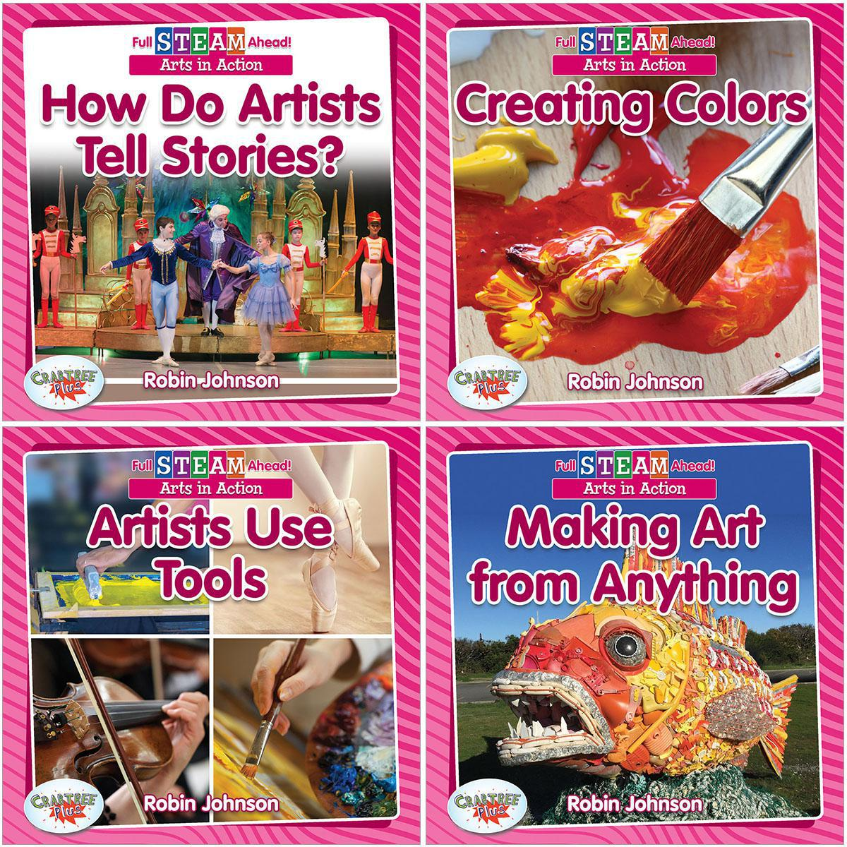 Full STEAM Ahead: Arts in  Action 4-Pack