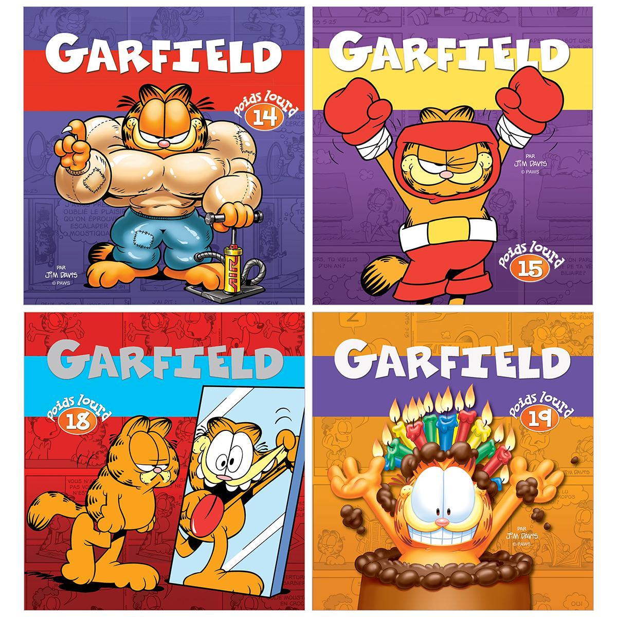 Ensemble Garfield poids lourd