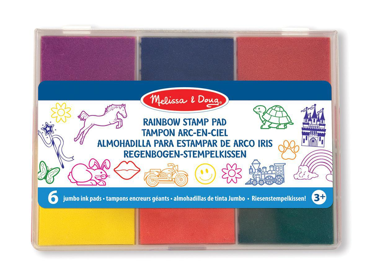Standard Washable 6-Colour Stamp Pads
